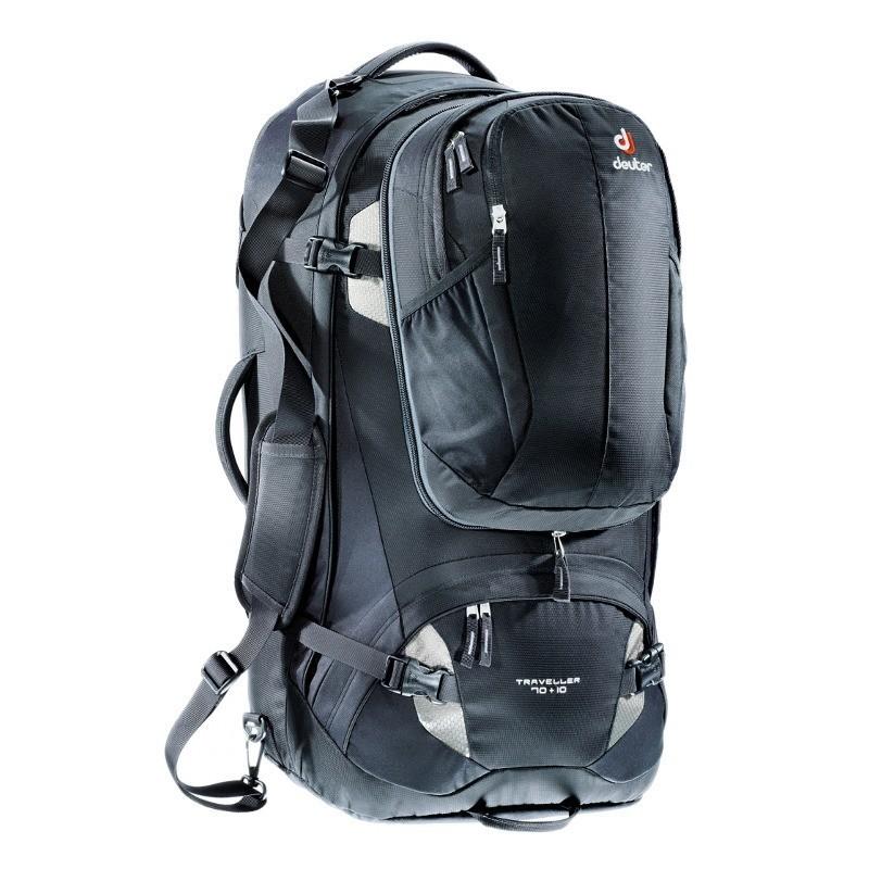 Deuter Traveller 70+ 10 black seljakott
