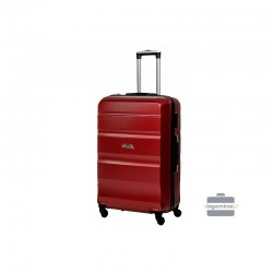 Suur kohver Gravitt Travel 710-D Tume punane
