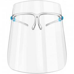10tk Kaitsev näokaitse SUPER LIGHT - prilliraamid kaitsekilp