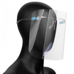 100tk Kaitsev näokaitse SUPER LIGHT - prilliraamid kaitsekilp
