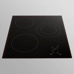 Allenzi PE 45 3 45cm integreeritavad pliidiplaadid must