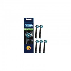 5tk Oral B lisaharjad Cross Action CleanMaximizer Braun Black