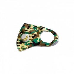 1 tk korduvkasutatavad maskid klapiga army