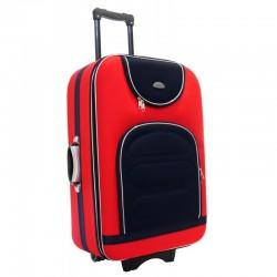 Suur kohver Deli 801-D punane must