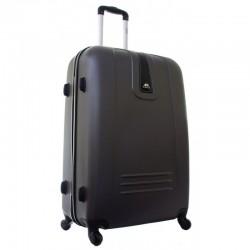 Keskmise suurusega kohver Gravitt 168-V tume hall