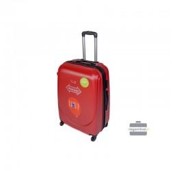 Keskmise suurusega kohver Gravitt 310-V punane