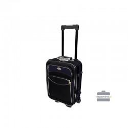 Väike kohver Deli 101-M must tume sinine