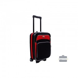 Väike kohver Deli 101-M must punane
