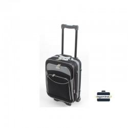 Väike kohver Deli 101-M must hall