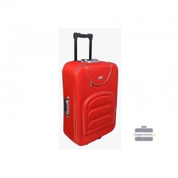 Keskmise suurusega kohver Deli 801-V punane