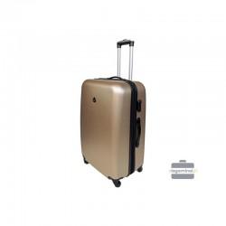Keskmise suurusega kohver Gravitt 866-2Z-V Champagne