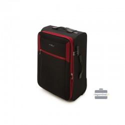 Suur kohver Vip Travel V25-3S-233 must punane