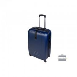 Keskmise suurusega kohver Szyk 168-V tume sinine
