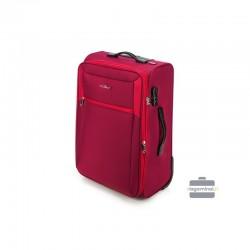 Keskmise suurusega kohver Vip Travel V25-3S-232 punane