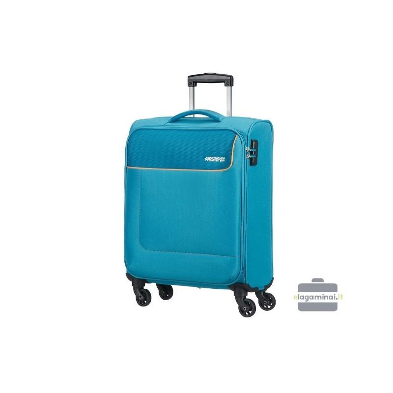 Väike kohver American Tourister Funshine M valgus sinine