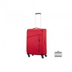 Keskmise suurusega kohver American Tourister Litewing V punane