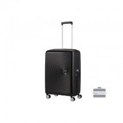 Keskmise suurusega kohver American Tourister Soundbox V black