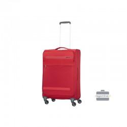 Keskmise suurusega kohver American Tourister Herolite V punane