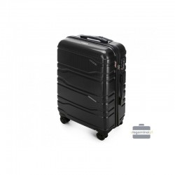 Keskmise suurusega kohvrid Wittchen 56-3P-982 must