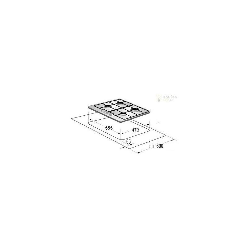 Allenzi BOS 6425 W Pliidiplaadid